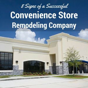 convenience store remodeling