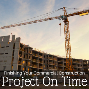 commercial construction project
