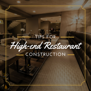 Tips For A Successful High-End Restaurant Construction Project